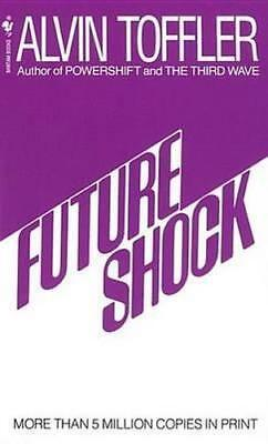 NEW Future Shock By Alvin Toffler Paperback Free Shipping