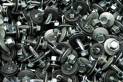 (450) Hex Rubber Washer Head #12 x 3/4 Self-Drilling Roofing Siding Screw