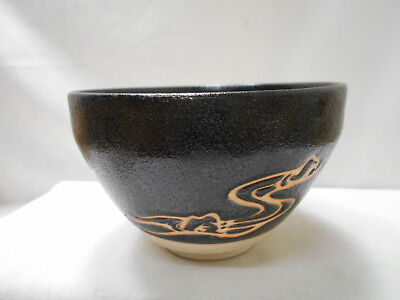 Japanese Tea Ceremony Pottery Bowl Chanoyu Traditional Vintage #144