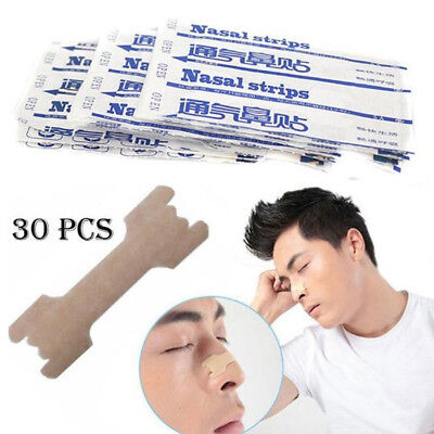 30X Anti Snore Nasal Strips to help Breathe Right Breathe Better Stop Snoring