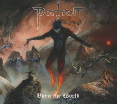 Portrait - Burn The World CD Metal Blad NEW