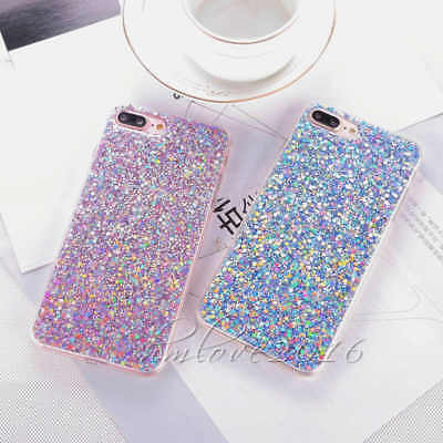 Deluxe Ultra-Thin Bling Glitter Shockproof Soft Phone Case For iPhone 7 6s Plus