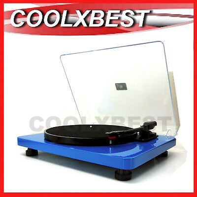 Holysmoke Errol Vinyl Record Player Turntable 3 Speed Pc Usb Encoding (Rfb)