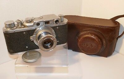 FED 1f 35mm Rangefinder with Fed 50mm f/3,5 Collapsible Lens - SNr: 323255