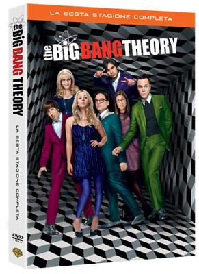 The Big Bang Theory - Stagione 6 DVD - totalmente in italiano