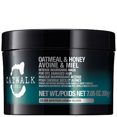 NEW TIGI Catwalk Oatmeal & Honey Intense Nourishing Mask 200g