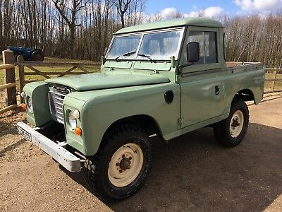 1966 Land Rover 88 SWB 3 Cylinder Diesel Pick Up Stunning Example