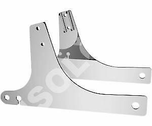 STAFFE LATERALI SISSY BARS SIDE PLATES  Harley Davidson  02>05 DYNAS (except ...
