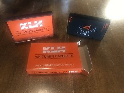 NEW - AM TUNER CASSETTE FOR KLH Solo OR INFINITY intimate Player