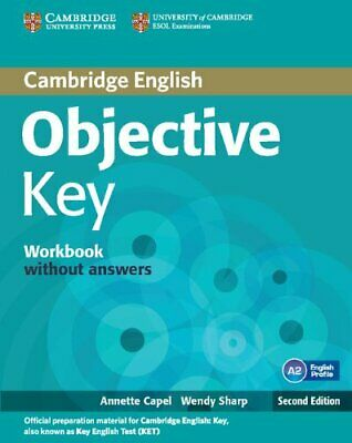 Objective Key Workbook without Answers by Sharp, Wendy, Capel, Annette