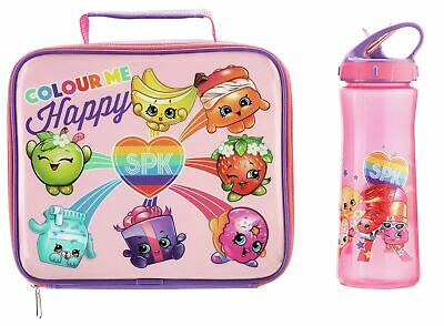 Shopkins Bottle and Lunch Bag.