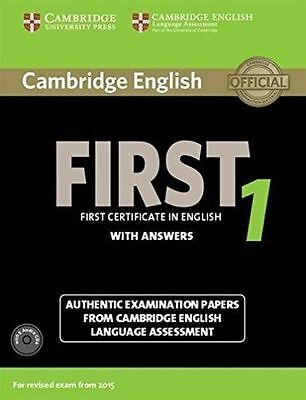 Cambridge English First 1 for Revised Exam from 2015 Student's Book Pack (Studen