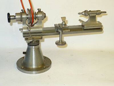 IME Watchmakers Collet Lathe 8mm, Headstock, Bed, T-rest Drawbar & tailstock