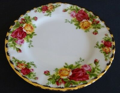 "Royal Albert Old Country Roses 6 1/4"" Plate -1962 mark"