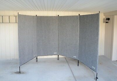 (4) Carpeted Display Panels; Gallery Panels by Armstrong Products; MINT!!!