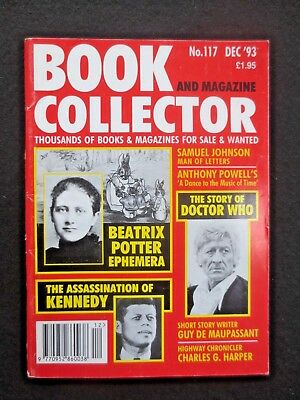 Book & Magazine Collector #117 Dec 1993 BEATRIX POTTER Doctor Who Anthony Powell