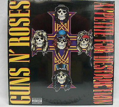 "NEW & Sealed Guns N' Roses ""Appetite For Destruction"" 180-Gram Vinyl Record LP"
