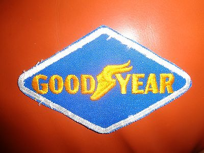 GOOD YEAR PATCH - Original - Vintage Small 4 3/4 x 3 INCHES Tires