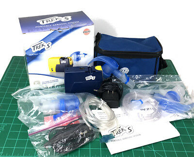 Pari Trek S Portable Aerosal System 047F45-LCS Bundle with Adapter and Parts
