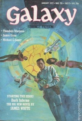 Galaxy Science Fiction (pulp/digest) #Vol. 32 #4 1972 VG- 3.5 Stock Image