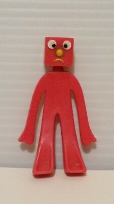 "Trendmsters Prema Toy Gumby  Blockhead ""g"" Mini Vinyl  Figure Toy 2.75"""