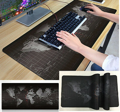 Creative World map Mouse Pad Anti-Slip Gaming Mice Computer Cover Desktop Mat