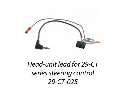 FORD FOCUS MK3 2011 to 2015 PATCH LEAD FOR 29-CT STEERING CONTROLS