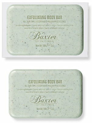 Baxters Of California Exfoliating Body Bar Soap Men's Grooming RRP £16 *BNWT*