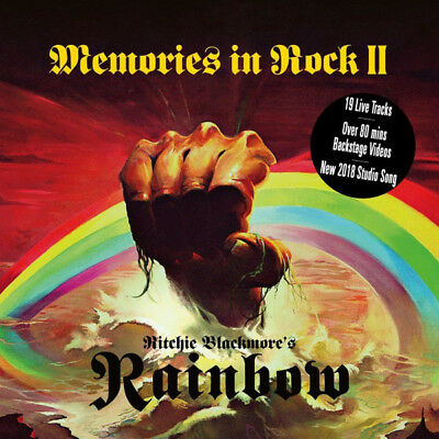 Ritchie Blackmore's Rainbow - Memories In Rock II [2CD & DVD] New & Sealed