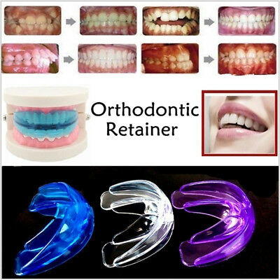 Straight Teeth System for Teens Adults Dental Orthodontic Braces Retainer w/ Box