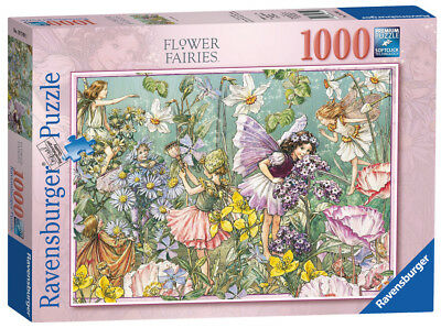 Ravensburger Puzzle*1000 Teile*flower Fairies*scent Of Summer*rarität*ovp