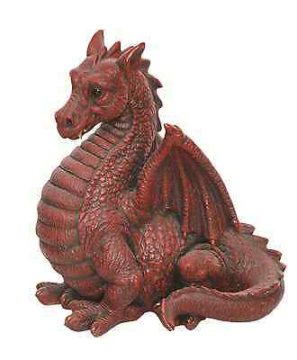 Vivid Arts - REAL LIFE GARDEN FRIENDS - Winged Red Dragon