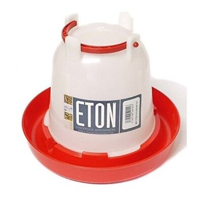 Supa - Poultry Drinker - Red & White - 1.5 Litre - Bird 15ltr Accessories