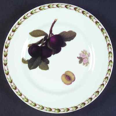 Rosina Queens HOOKER'S FRUIT (INDIA) Plum Bread & Butter Plate 6360834