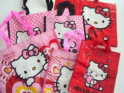 Lotto Stock 35 Pezzi Borsetta Shopping Bag Orig. Hello Kitty (Stk35)
