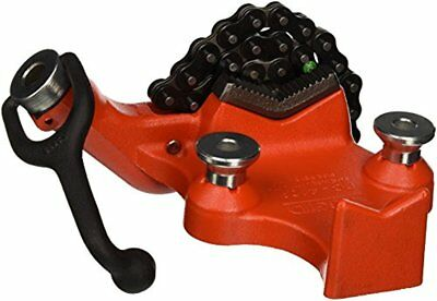 RIDGID 40195 Model BC410A Top Screw Bench Chain Vise, 1/8-in to 4-in Bench Vise