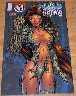 WITCHBLADE SPRING PIN-UP - Michael Turner- American Ent