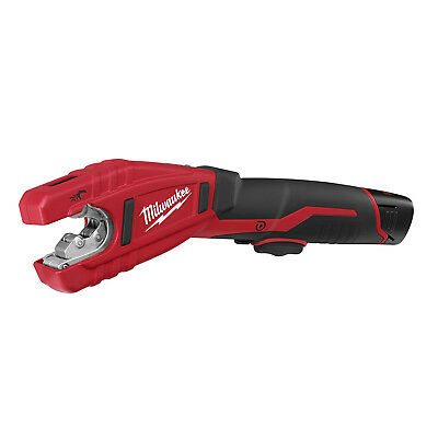 Milwaukee 12-Volt Copper Tubing Cutter Kit - 2471-21 Cordless Ergonomic Compact