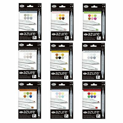 marker pens permanent double ended felt tip professional graphic markers