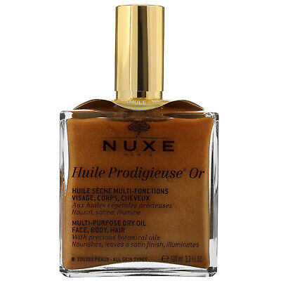 NEW Nuxe Huile Prodigieuse Or Multi-Purpose Dry Oil 100ml