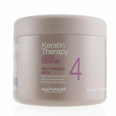 AlfaParf Lisse Design Keratin Therapy Rehydrating Mask (Salon Size) 500ml