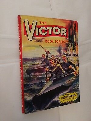 The Victor Book For Boys (Annual) 1965 *Unclipped Price Tag*