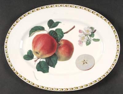 "Rosina Queens HOOKER'S FRUIT (BONE-INDIA) Apple 11 7/8"" Serving Platter 6601584"
