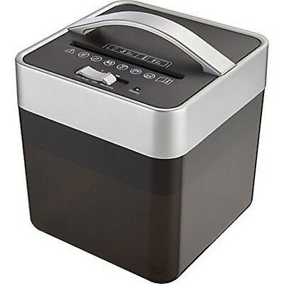 NEW Insignia 6-Sheet Crosscut Countertop Paper/Mail/Card SHREDDER Compact Office