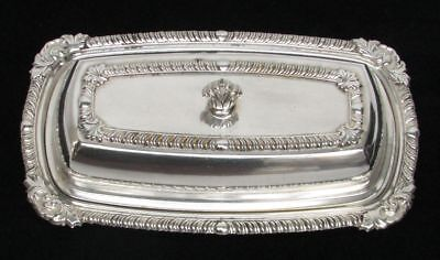 Vintage & Lovely Oneida Silver Plate Butter Dish