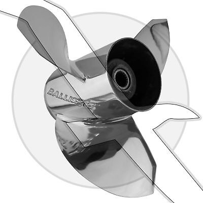 Stainless Steel 17 Pitch Propeller LH 346062 SS Boat Prop Volvo Penta SX
