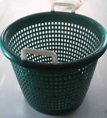 XFS05FA9002 Polyethylene Fish Shrimp Basket Green 14035