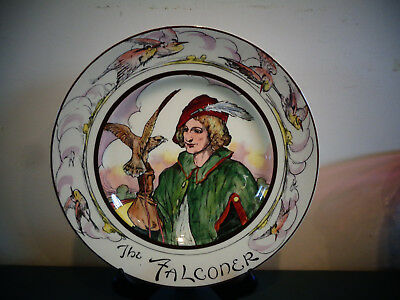Royal Doulton Falconer Cabinet Plate