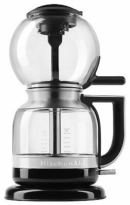 KitchenAid RKCM0812OB Siphon Glass Vacuum Coffee Maker Brewer Onyx Black