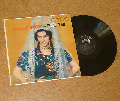 LP Vinyl Mariachi Vargas of Tecalitlan RCA LPM1318 Latin Made in USA